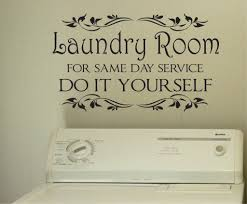 Laundry Room Decorations For The Wall by Laundry Same Day Service Vinyl Decals Wall Lettering Laundry