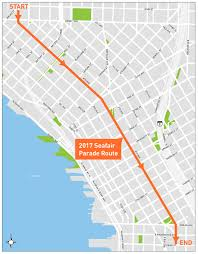 Downtown Seattle Map by The Seafair Torchlight Parade And Torchlight Run Are Saturday July 29