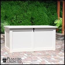 outdoor storage boxes bins deck boxes planters unlimited