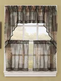 Fabric For Kitchen Curtains 16 Best Sheer Kitchen Curtains Images On Pinterest Kitchen