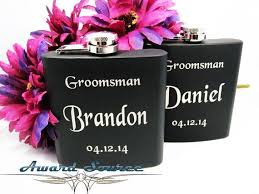 Bride And Groom Flasks 15 Best Gifts For Groomsmen Images On Pinterest Gifts For