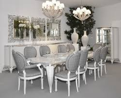 black and silver dining room set inspiring goodly black mirrored