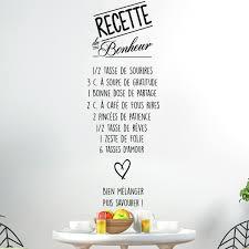 stickers recette cuisine sticker citation recette du bonheur stickers citations français