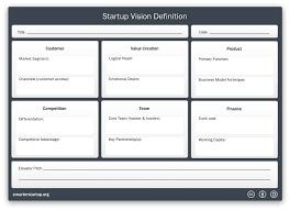 vision definition smarter startup
