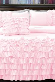 girls frilly bedding light pink ruffle bedding twin on the hunt