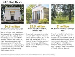 mausoleum cost luxury cemetery plots for sale wsj