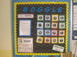 fresh sharpened pencils boggle bulletin board