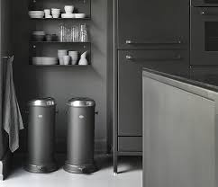 Black Bathroom Trash Can Ideas Trash Can Stainless Steel 13 Gallon Stainless Steel Trash