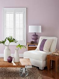 purple paint colors upholstered furniture window and pillows