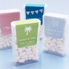 theme wedding favors personalized tic tacs favors silhouette theme
