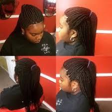 twa hair braiders in georgia half box braids done by sl african hair braiding call now and get