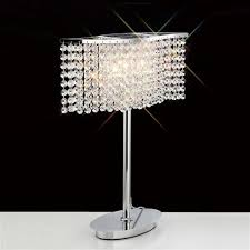 Crystal Desk Lamp by Crystal Table Lamps The Lighting Superstore
