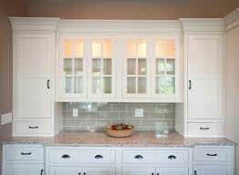 outstanding kitchen buffets and cabinets with ceramic subway tile