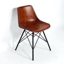 chaise de bureau style industriel fauteuil bureau industriel chaise industrielle cuir pieds tour