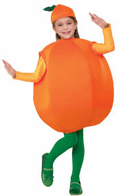kids costumes child s orange costume fruit and vegetable costumes see all