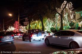 dyker heights christmas lights shot with the leica m9 and fuji x100