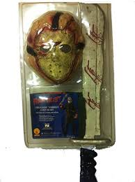 Jason Voorhees Costume Child Jason Voorhees Costume Kit With Mask Shirt Machete Costumelook
