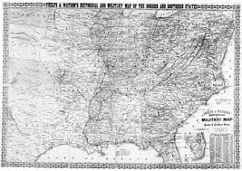 map us states during civil war border states american civil war