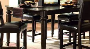 dining set with table and 4 chairs black kitchen furniture