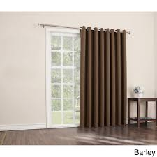 patio doors patio sliding door curtain with wand panels insulated