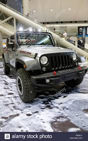 new jeep wrangler the new jeep wrangler car on display during the 44th tokyo motor
