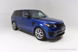 land rover svr white 2015 land rover range rover sport svr exotic and classic car