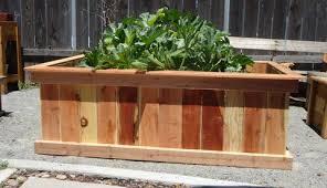 Redwood Planter Boxes by Redwood Style 2 Custom Raised Gardens Raised Garden Bed Design