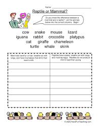 animal worksheets page 4 of 4 have fun teaching