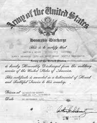 honorable discharge certificate discharge6 jpg