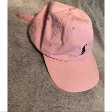 light pink polo baseball cap polo by ralph lauren accessories light pink polo hat poshmark