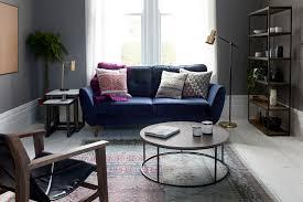 deco en zinc zinc luxe velvet french connection sofa in navy i dfs i http www