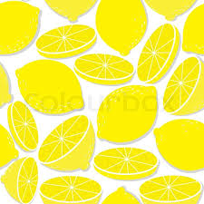 seamless lemon pattern lemon seamless background isolated on white vector pattern of