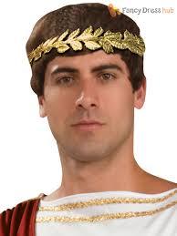 gold leaf headband gold leaf headband crown mens god goddess fancy