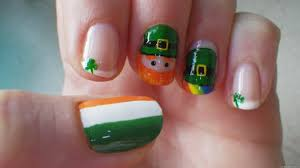cute nail art for st patrick day nail designs u0026 nail art