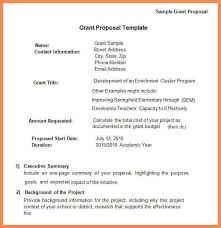 template for grant proposal how to write a grant proposal with