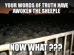 Sheeple Meme - meme creator wake up sheeple meme generator at memecreator org