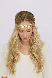 gold headband boho headbands braided gold headband metallic leatherette thin