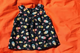 dress free pattern ruffled halterneck dress