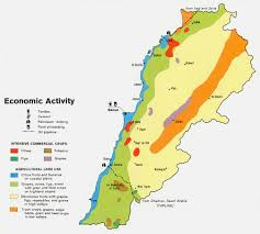 lebanon on the map nationmaster maps of lebanon 21 in total