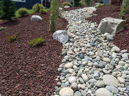 Lava Rock Landscaping by Cleancut Nw Lawn Care Weed Control Fertilization Lynden