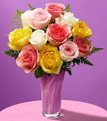 color roses 1 dozen mixed color roses fta xx 05s2 fl 59 99 flowerstoall