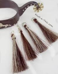 Shoo Hair horsehair tassel shoo fly tassel shu fly tassel girth tassel