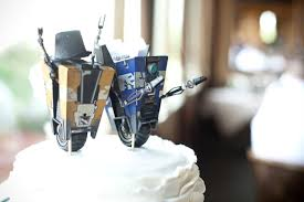nerdy cake toppers our borderlands cake toppers and groom clap traps