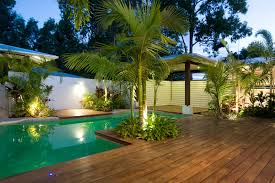 Pool Landscape Lighting Ideas Innovative Robellini Palm Vogue Other Metro Tropical Pool