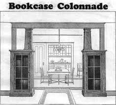 Free Wood Bookcase Plans by Best 25 Craftsman Built In Ideas On Pinterest Craftsman