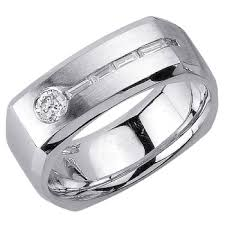 wedding ring depot 55ct tcw 18k white gold flat unique band 8mm 3003705 shop at