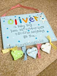 Baby Plaques Personalised Wooden Plaques For Boys Tiny Things