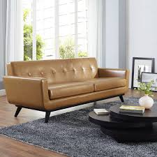 amazing tan leather sofa engage tan leather sofa 16692931