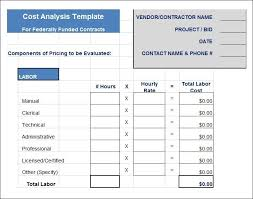 Free Cost Benefit Analysis Template Excel Options Analysis Template Corpedo Com Business Cost Benefit