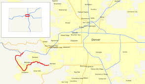 Map Of Denver Area Colorado State Highway 74 Wikipedia